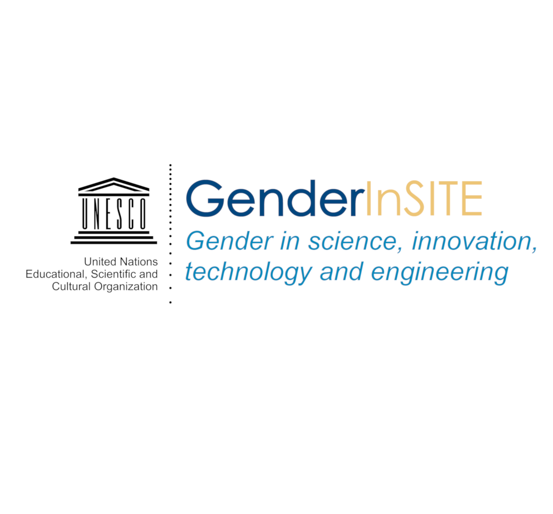 GenderInSITE logo with UNESCO